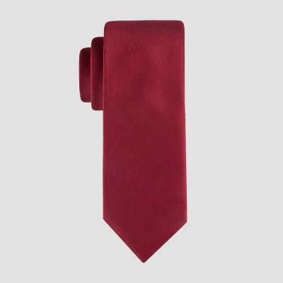 Men's Fairway Solid Tie - Goodfellow & Co™ Red One Size