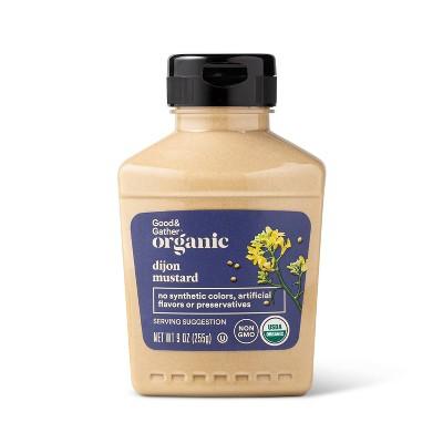Organic Dijon Mustard - 9oz - Good & Gather™