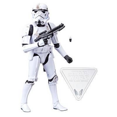 Star Wars Black Series 6 inches figures Luke Skywalker total abou length of
