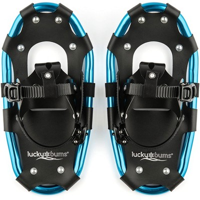 Lucky Bums 14 Inch Youth Hiking Snow Play Snowshoes for Kids Ages 6 to 12