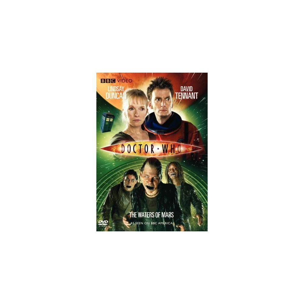 Dr Who The Waters Of Mars Dvd 2010