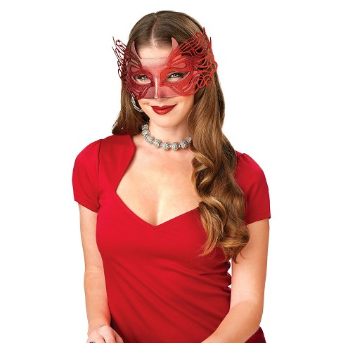 Women's Devil Basic Masquerade Mask - image 1 of 1