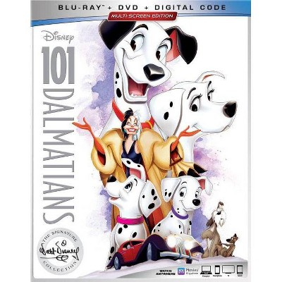 101 Dalmatians Signature Collection (Blu-Ray + DVD + Digital)