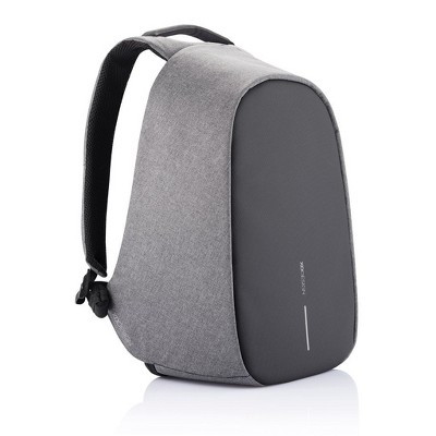 XD Design Bobby Pro Compact Anti Theft Waterproof Travel Laptop Backpack with USB Charging Port, Bottle Holder, and Phone Pouch, Grey