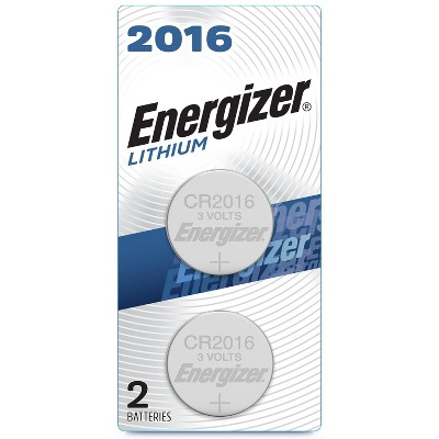 Energizer 2pk 2016 Batteries Lithium Coin Battery