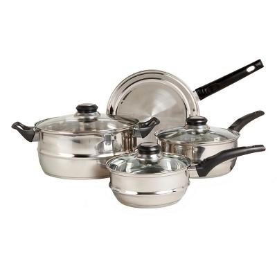 Sunbeam Ridgeline 7pc Stainless Steel Cookware Set