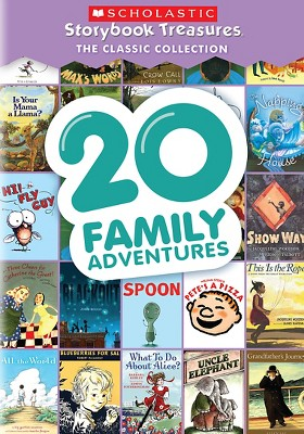 20 Family Adventures: Scholastic Storybook Treasures Classic Collection (DVD)(2016)