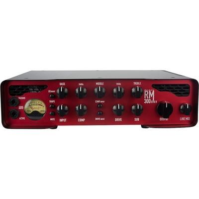 Ashdown Rootmaster RM-300 EVO II 300W Bass Amp Head Black and Red