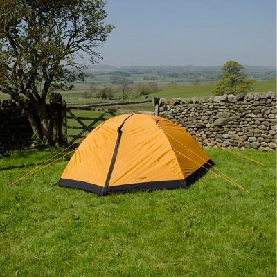 Snugpak Journey Trio 3 Person Tent, Waterproof, Windproof, Sunburst Orange