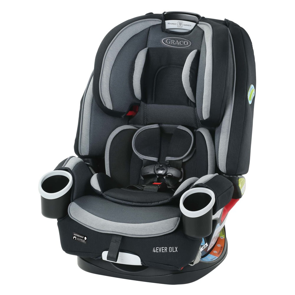 Image of Graco 4Ever DLX All-In-One Convertible Car Seat - Aurora