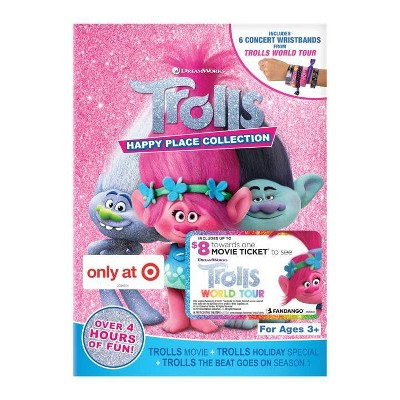 Trolls Happy Place Collection - Wristbands (Target Exclusive) (Trolls World Tour Movie Cash) (DVD)