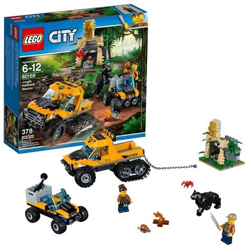 95f624d2fbe8 LEGO® City Jungle Explorers Jungle Halftrack Mission 60159 : Target