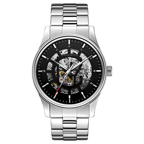 Caravelle New York by Bulova Men's Automatic Stainless Steel Bracelet Watch 42mm 43A124 - image 1 of 1