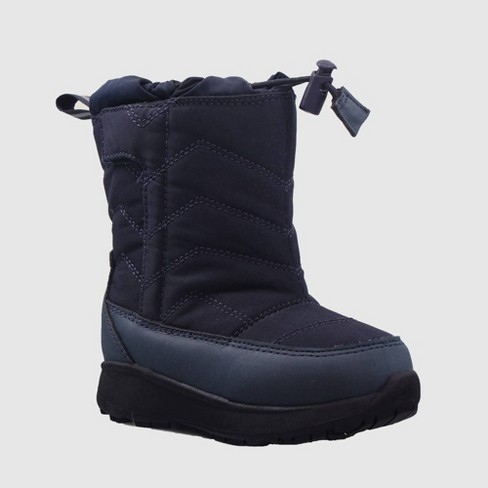 Toddler Boys' Himani Winter Boots - Cat & Jack™ Navy - image 1 of 3