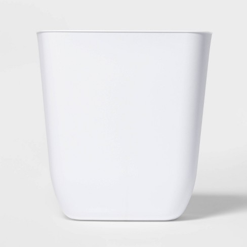 3gal Open Vanity Trash Can White - Room Essentials™ - image 1 of 3