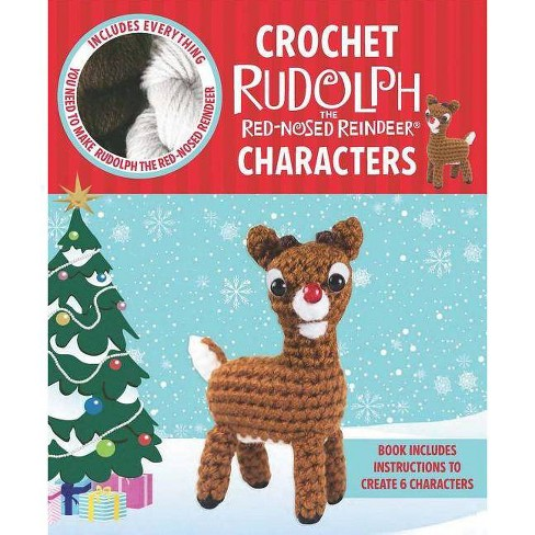 Crochet Rudolph the Red-Nosed Reindeer - image 1 of 1