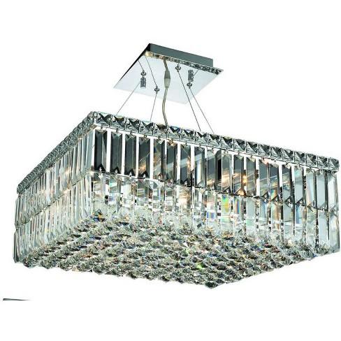 """Elegant Lighting 2032D20C Maxime 12 Light 20"""" Wide Crystal Chandelier - image 1 of 1"""