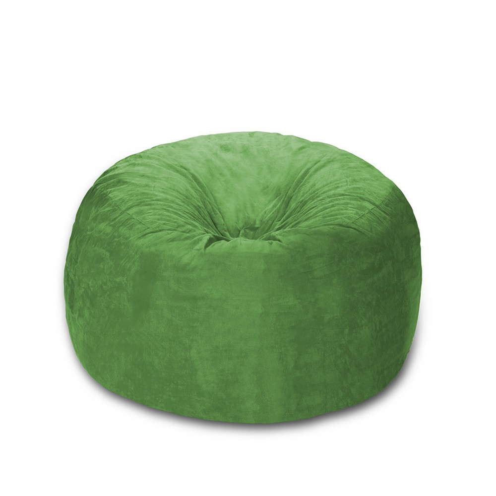 Image of 4 ft Microsuede Sack Lime - Relax Sack, Green
