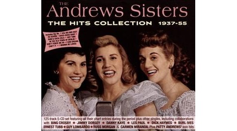 Andrews Sisters - Hits Collection:1937-1955 (CD) - image 1 of 1
