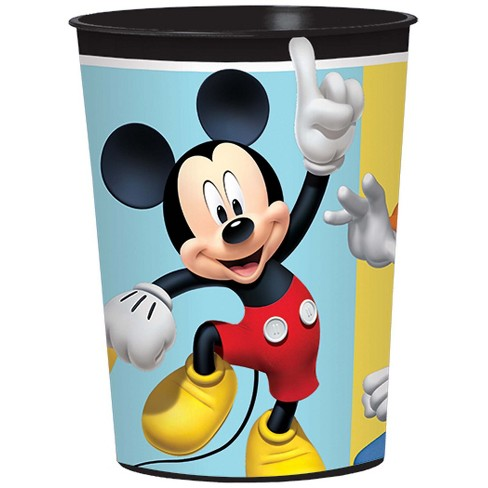 16oz 1 Mickey Mouse On the Go Plastic Favor Cup - image 1 of 1
