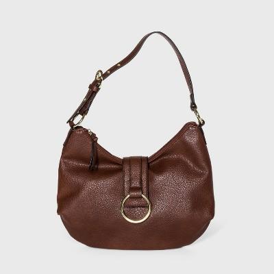 Bueno Zip Closure Shoulder Bag