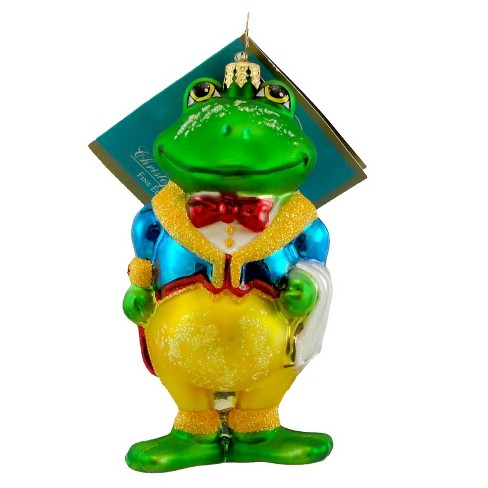 Christopher Radko Butler Ribbit Ornament Frog - image 1 of 2