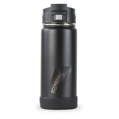 EcoVessel 16oz Perk Insulated Coffee Travel Mug Tumbler with Steel Tea Strainer