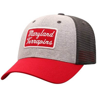 NCAA Maryland Terrapins Men's Gray Cotton with Mesh Snapback Hat