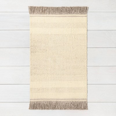 2'x3' Jute Rug Gray - Hearth & Hand™ with Magnolia