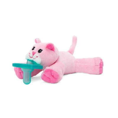 WubbaNub Pink Kitty Pacifiers