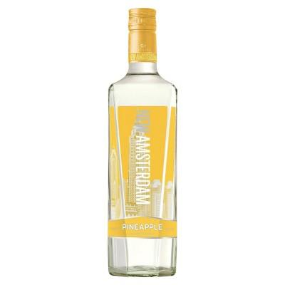 New Amsterdam Pineapple Flavored Vodka - 750ml Bottle