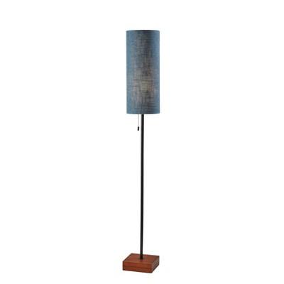 Trudy Floor Lamp Black/Brown - Adesso