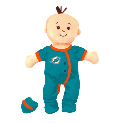 NFL Miami Dolphins Wee Baby Stella Doll - image 1 of 1