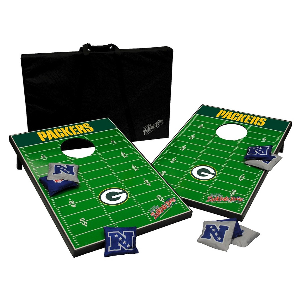 NFL Wild Sports Tailgate Toss 2 x 3 ft. - Green Bay Packers