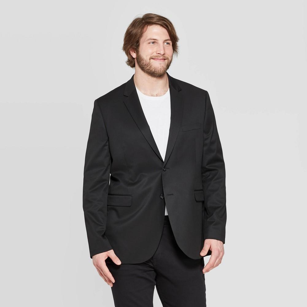 Men's Slim Fit Suit Jacket - Goodfellow & Co Black 46L