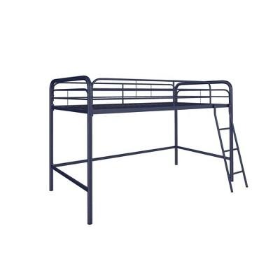 Adeline Junior Metal Loft Bed Blue - Room & Joy
