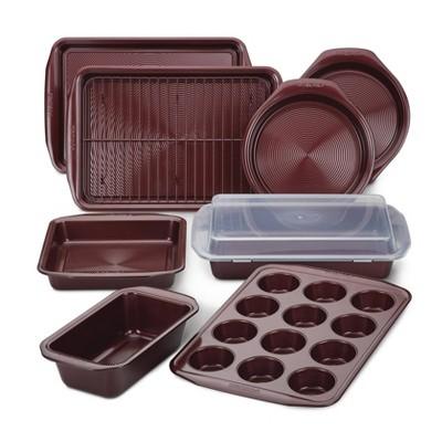 Circulon 10pc Nonstick Bakeware Set Merlot