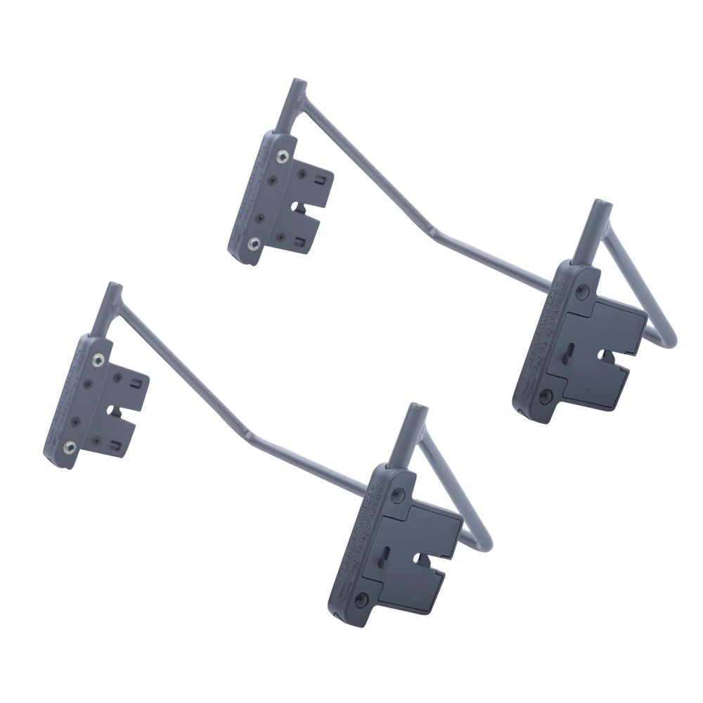 JOOVY Twin Roo+ Car Seat Adapter - Peg Perego, Gray