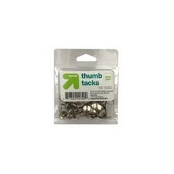 Thumb Tacks 100ct Silver - Up&Up™