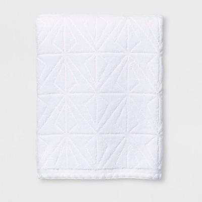 Sculpted Diamond Bath Towel White - Project 62™