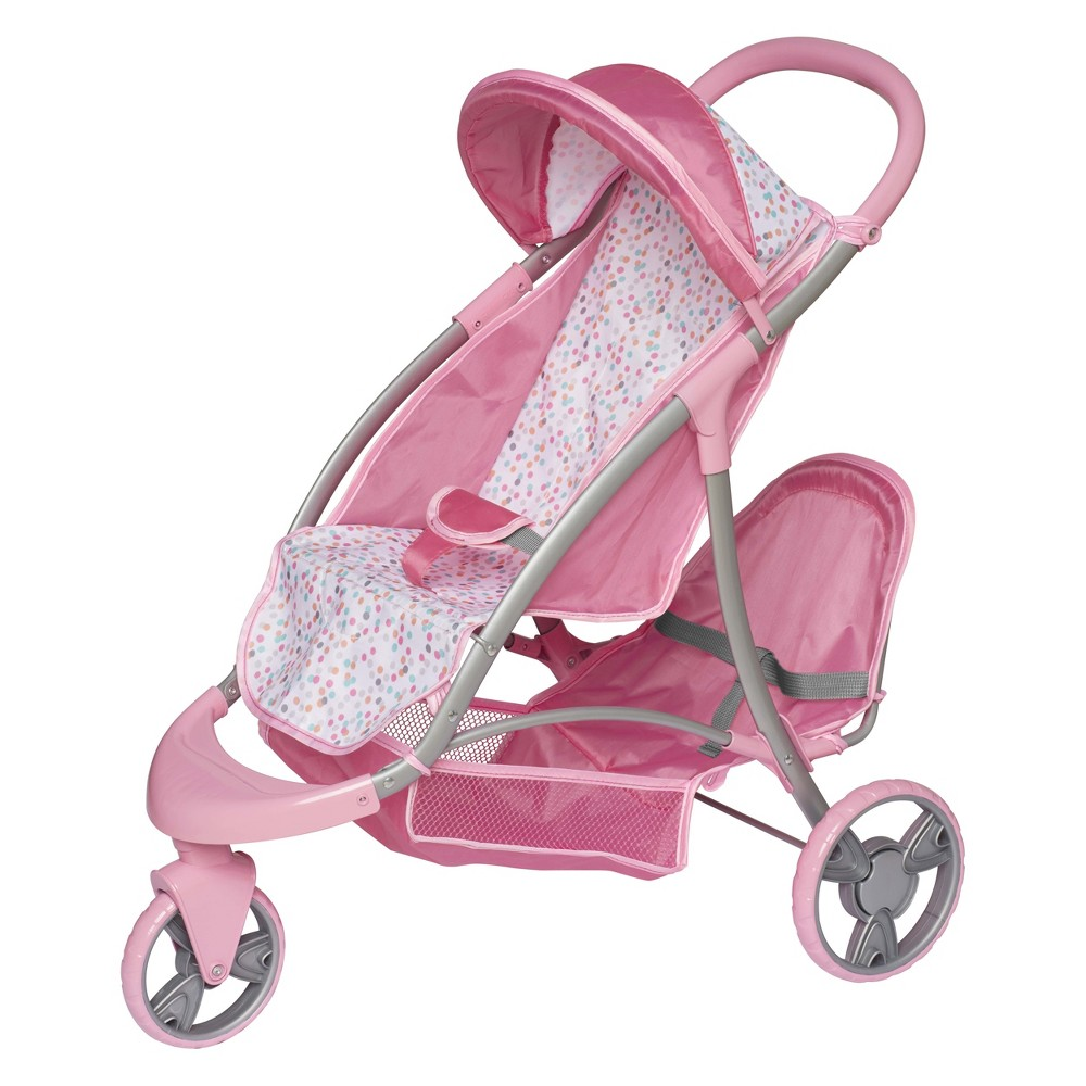 Perfectly Cute Baby Doll Double Stroller - Duo Jogger
