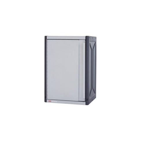 Rubbermaid FastTrack 14 x 16 x 24 Inch Garage Power Tool Locker Cabinet Kit Rail Wall Storage System - image 1 of 4