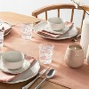 4pk Raw Edge Linen Blend Napkins Rose Gold - Hearth & Hand™ with Magnolia - image 2 of 2