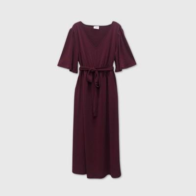 Flutter Short Sleeve Maternity Dress - Isabel Maternity by Ingrid & Isabel™