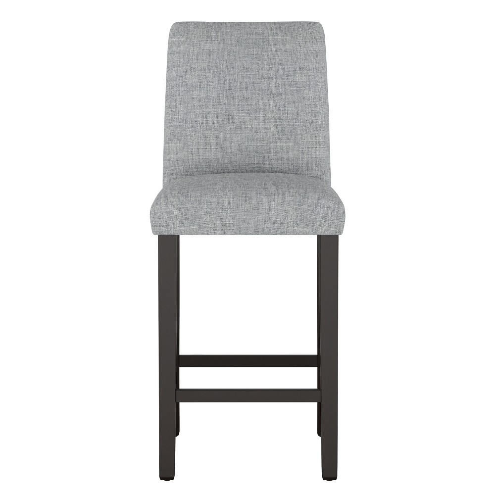 Modern Bar Stool Pumice Gray Linen - Project 62