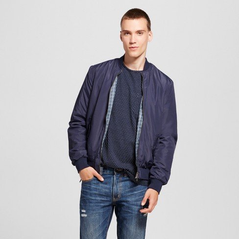sneakers newest style of online for sale Men's Walden Reversible Bomber Jacket - No Retreat Navy