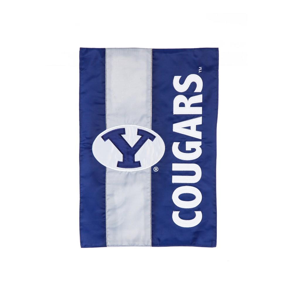Byu Cougars Embellished Garden Flag
