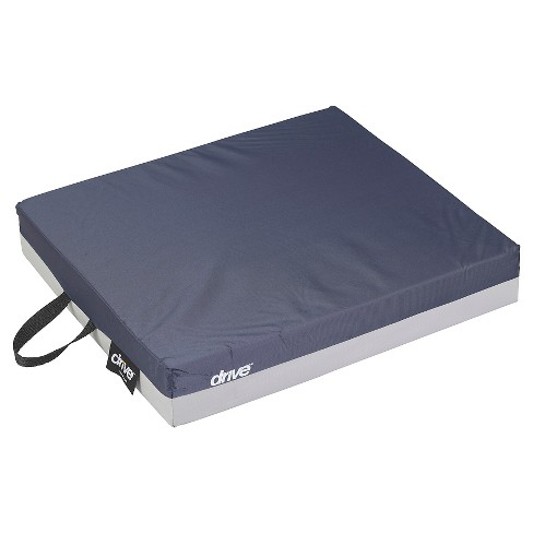 """Drive Medical Gel """"E"""" Skin Protection Wheelchair Seat Cushion, 18"""" x 16"""" x 3"""" - image 1 of 4"""