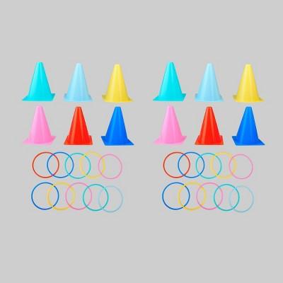 12ct Cones & 20ct Toss Rings - Bullseye's Playground™