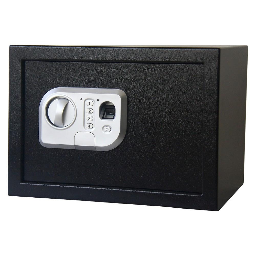 Image of Stalwart Fingerprint Digital Steel Safe - Black